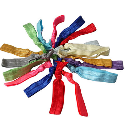 Attractive Knot Elastic Hair Tie Hairband Rubber Band Ponytail Fashiong Headband Multi Color - Super Guo Candy store