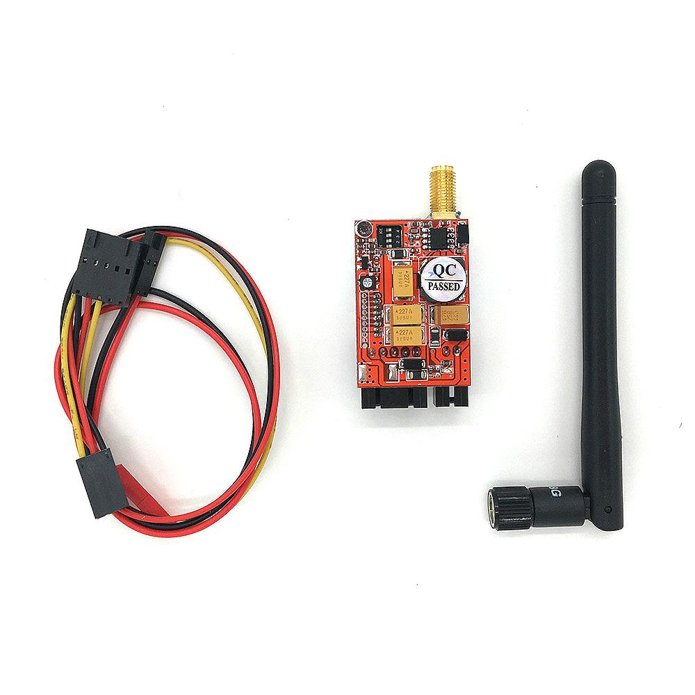 Hot 5.8G 200MW 8CH Video AV Audio Video TS351 Transmitter Sender FPV 2.0Km Range Car Video Wifi Rearview System for Aircraft(China (Mainland))