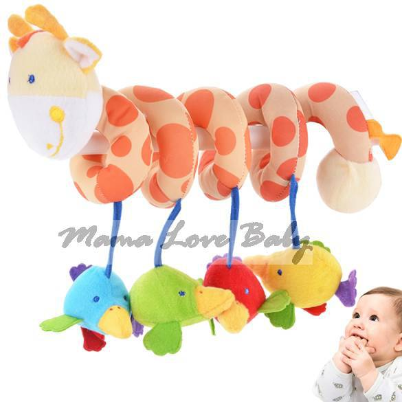 Top Musical Toys For Toddlers : Hot musical star multifunctional toddler bed rattles