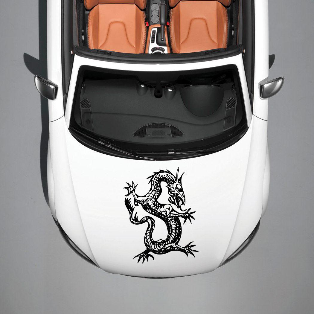Design a car decal online - Car Hood Vinyl Sticker Decals Graphics Design Art Dragon Animal Tattoo Sv4869 China Mainland