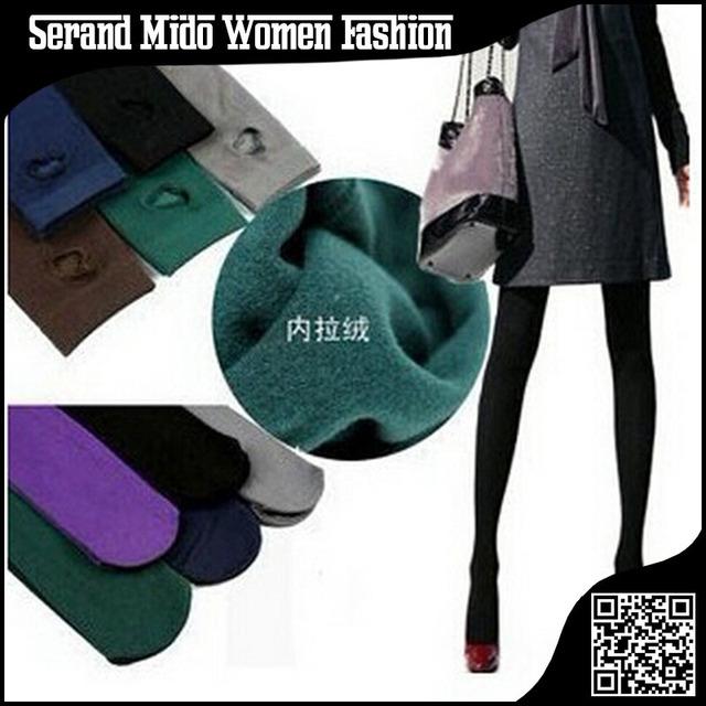 Новый 2014 зима теплая женские леггинсы бархат мода брюк для женщин осень леггинсы ...