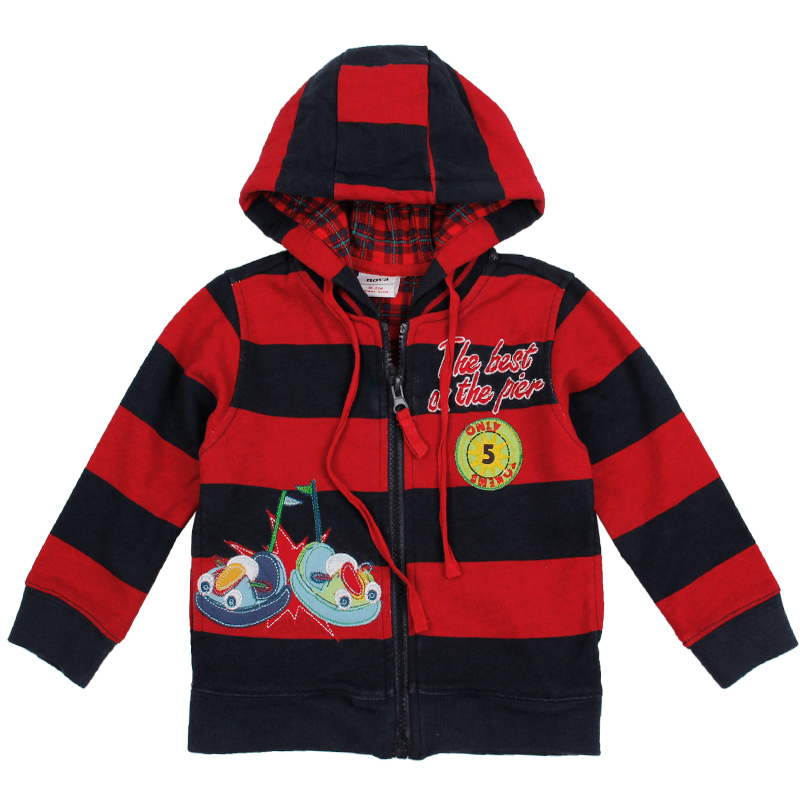 boys the winter hooded coat nova striped cotton long sleeve outwear kids boy clothes for boys and wholesale A2973<br><br>Aliexpress