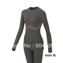 Free shipping,quick-drying comfortable womens autumn winter sports suits.warm Bamboo fiber  thermal underwear.Health clothes(China (Mainland))