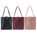 2016 New Fashion High grade PU Leather Women Long Zipper Bag Large Bag Handbag Shoulder