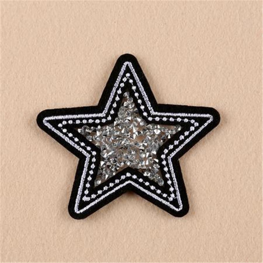 вышитые патчи для одежды звезда шарик badge аппликация одежды железа на патч diy аксессуары этикетка пэчворк