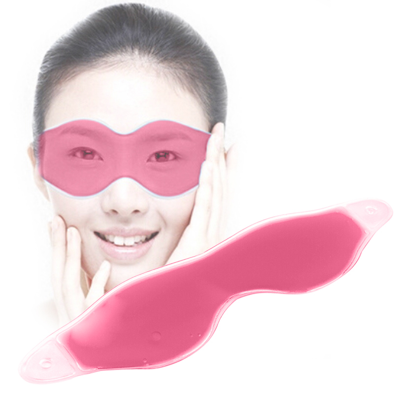 Comfortable Ice Eyeshade Compress Gel Eye Care Eye Shield Sleep Mask Eyeshade Sleeping Eye Mask Blindfold Mascara De Dormir