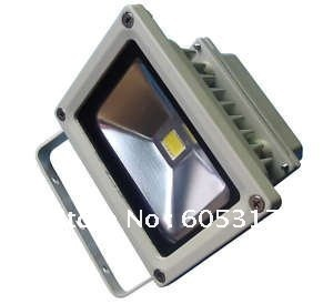 Express Free Shipping 5pcs/lot 85-265V High Power 10W 700LM Waterproof LED Floodlight White Color Flood Light