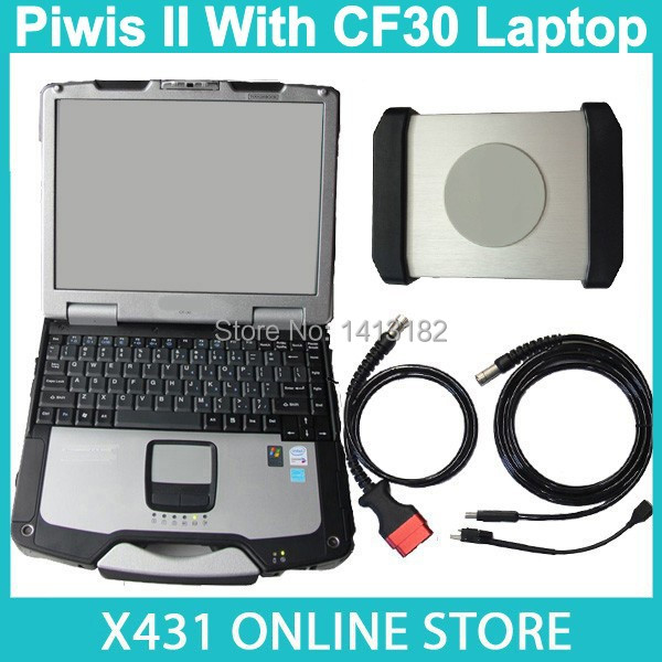 2015 New Released V15.600 Piwis II + CF30 ToughBook Refurbished Touch Screen Laptop For Panasonic Diagnostic Tool Piwis Tester 2(China (Mainland))