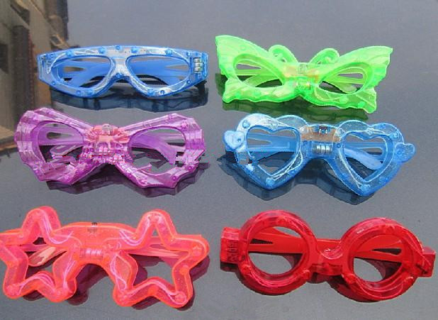 Free shipping, fashion light-emitting lights glasses for festivals/parties/stages/bars/ktv, Drop shipping, PP0005