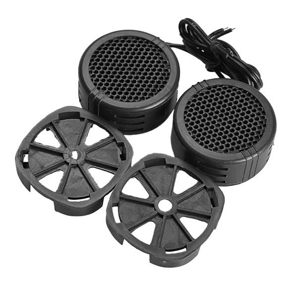 2pcs Universal High Efficiency 2x 500W Car Mini Dome Tweeter Loudspeaker Loud Speaker Super Power Audio Auto Sound Klaxon Tone