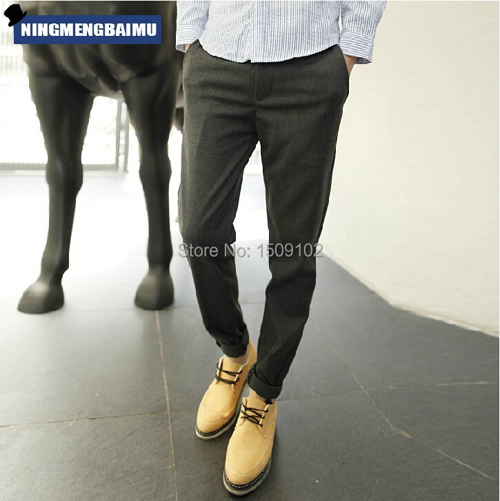 Hot Selling! 2014 Men's Brand New Cotton Fashion England Long Pants Slim Fit Casual Stylish Men - Vogue Home store