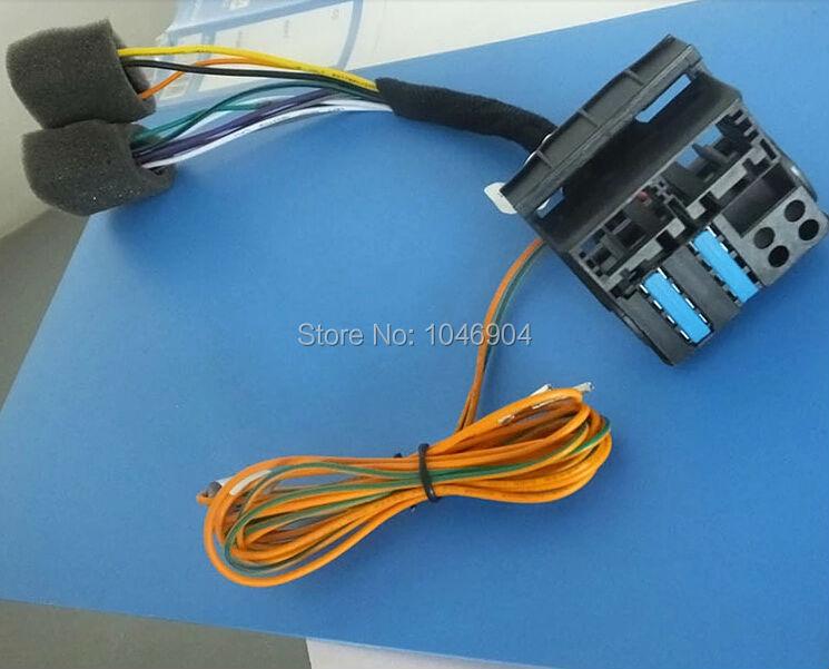 product FREE SHIPPING atualizacao RCD510 RCD310 RNS315 RNS510 EXCHANGE adaptador FOR Golf VI Jetta MK5 MK6 Passat B6