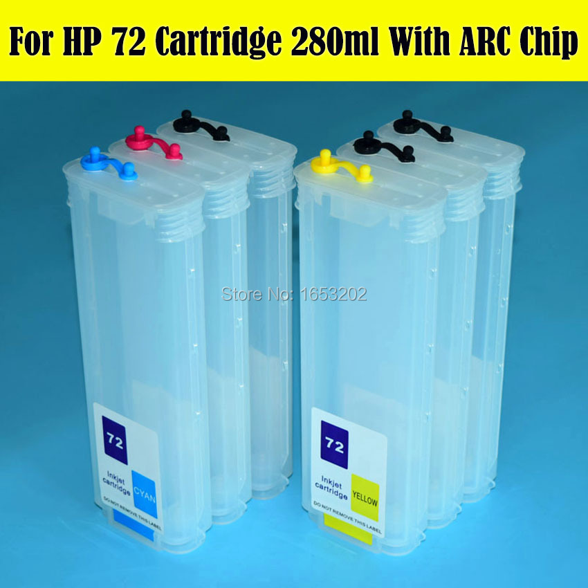 For HP 72 Refill Ink Cartridge 6