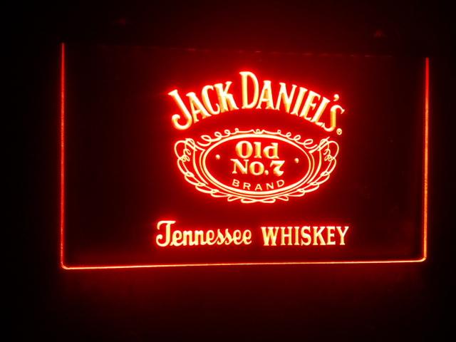 b-06 Whiskey Old No. 7 Bar Beer LED Neon light Sign(China (Mainland))