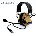Tactical Headset IPSC Shooting Ear Protectors With Pickup Function Sport Hunting Electronic Hearing Protection Earmuffs