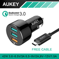 Aukey Quick Charge 2.0 54W 5 Port USB Fast Charger QC2.0 Wall Charging EU US Plug for iPad iPhone 4/5/6s & Android Mobile Phone