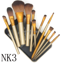New Maquiagem naked 3 Makeup Brushes Professional Cosmetics NK3 power Brush beauty makeup tool kit Set for Eyeshadow Blusher