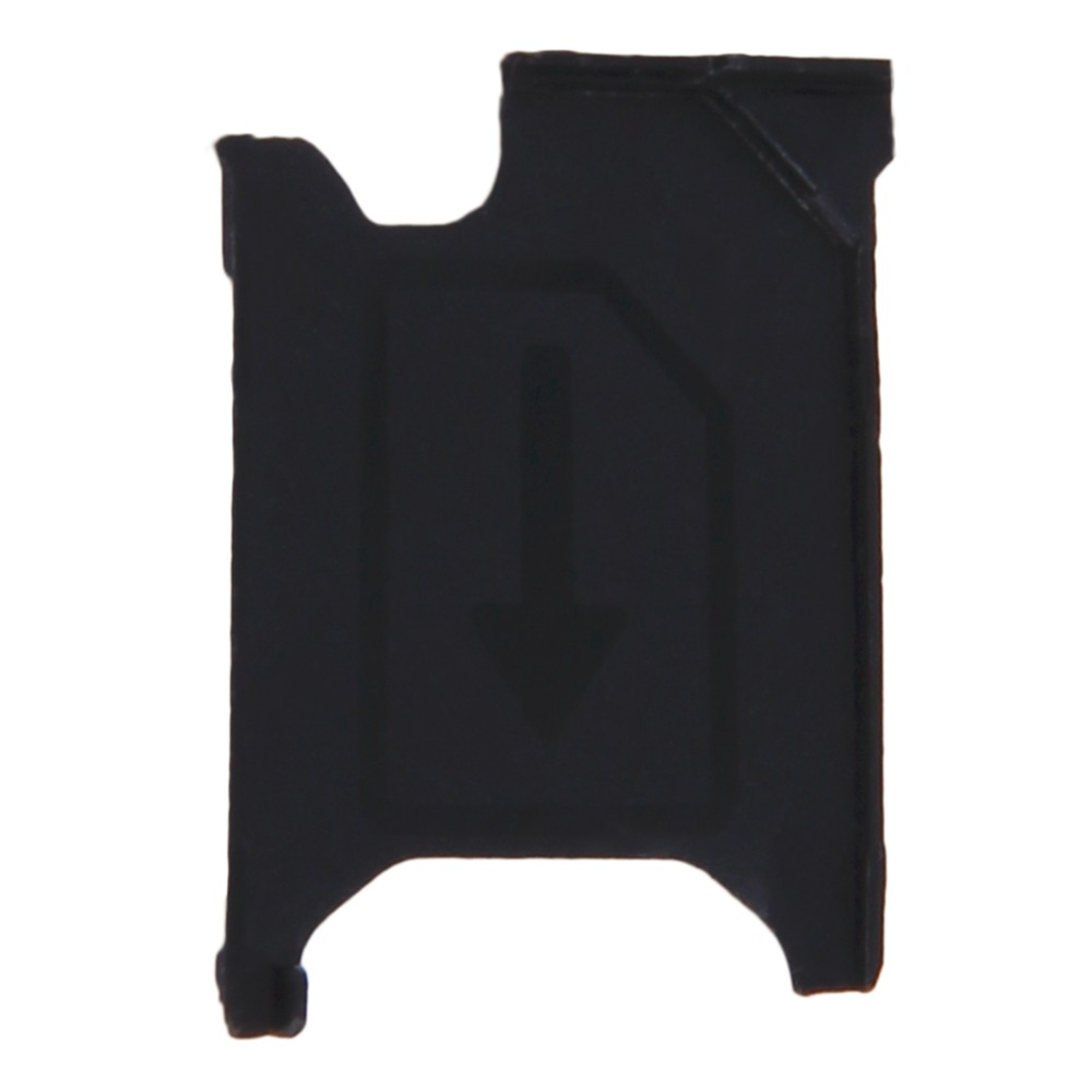 Black color For Sony Xperia Z1 L39h C6902 C6903 C6906 C6943 Micro Sim Card Tray Slot Holder Replacement(China (Mainland))