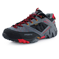 NEW Brand Baideng all seasons men hiking shoes breathable Camping shoes 3 colors leather climbing shoes
