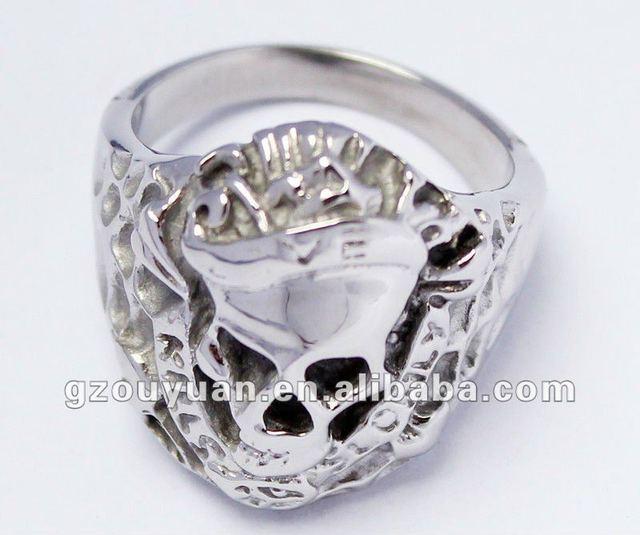 50 piece/case 316L stainless steel fashion unique design ring