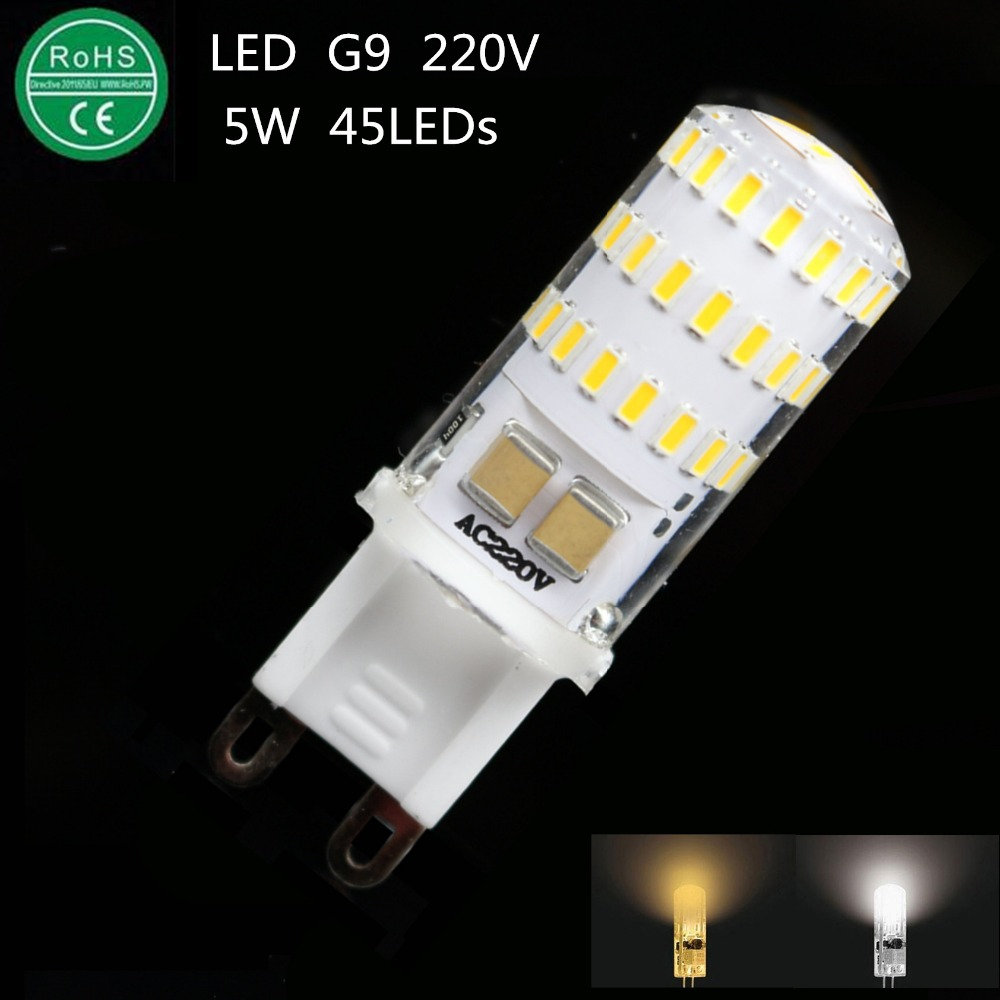 new led lamp g9 220v 5w mini led g9 bulb lamp ceramic crystal high power high transmittance 360. Black Bedroom Furniture Sets. Home Design Ideas