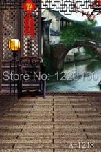 Free Interior digital floor Backdrop A-1248 , 5ft*7ft vinyl backdrop photography, Studio Photo Background