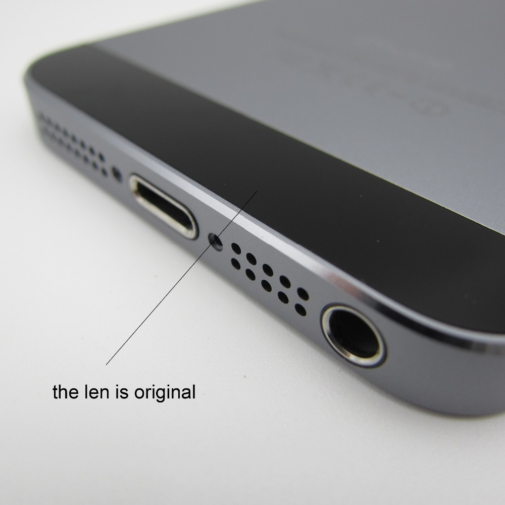 Space Gray Back Cover Housing Replacement Metal Alluminum Middle Frame Battery Door iPhone 5S - Cell Phone Repair store