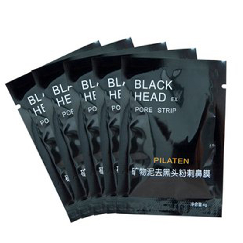 6PCS Beauty Care Face Mask Care Nose Blackhead Remover Mask Face Minerals Conk Nose Black Head Pore Strip(China (Mainland))