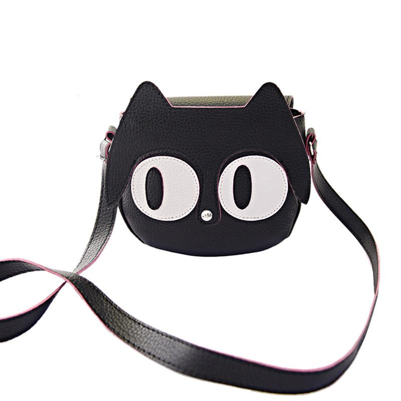 Handbags Casual Chinese Fashion Style Eyes Cute Cartoon Shoulder Bag Messenger Bags Single PU Leather Handbag Big para mujer(China (Mainland))