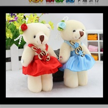 promotion lovely bears toys for bouquet high quality soft stuffed toys mini teddy bears bouquet material valentine's day gift