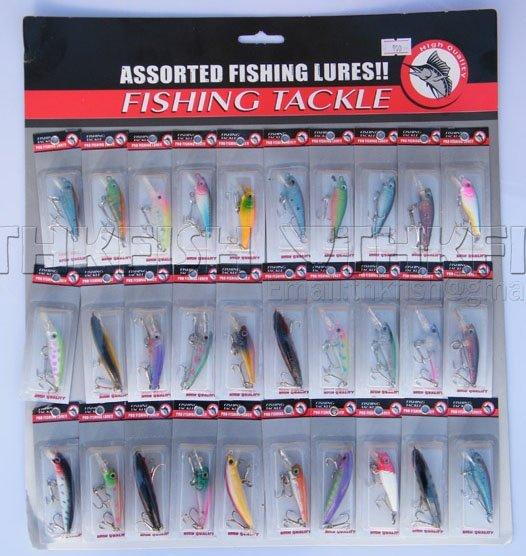Brand New !! 90Pcs Pack Assorted Hardbaits Fishing Lures Hard Minnow Crank Vib Crankbaits Small Mixed Order