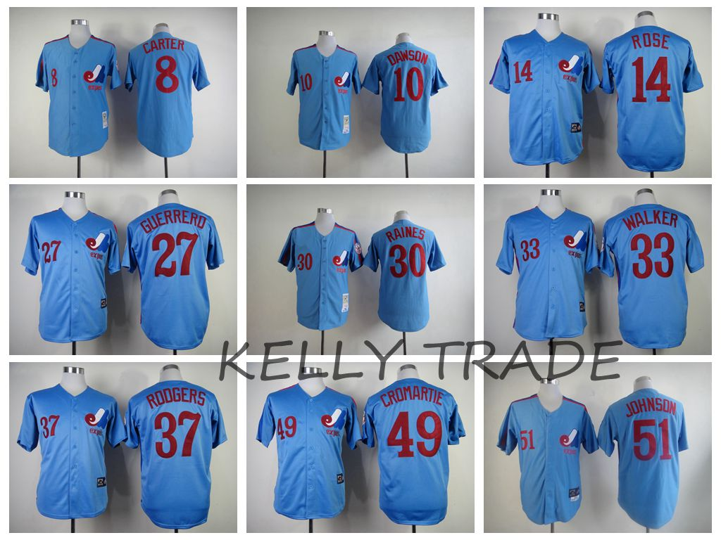 100% Stitiched,Superior quality,Montreal Expos for mens(China (Mainland))