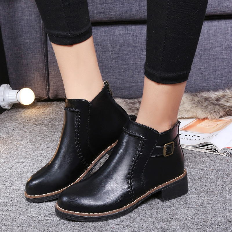 sale new 2016 autumn vintage boots fashion