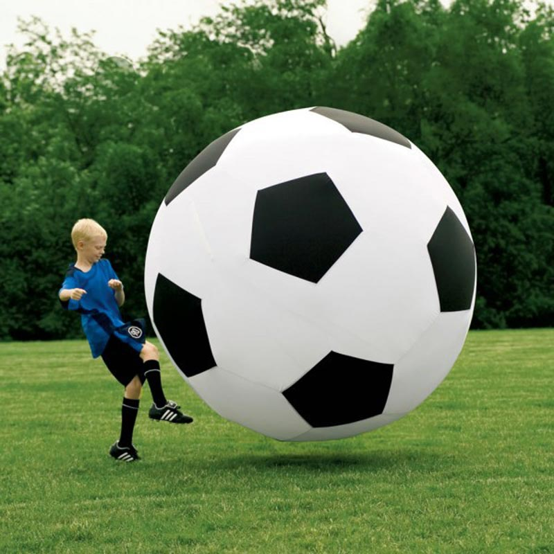 new arrival 2015 107cm Super big inflatable football,soccer,inflatable toy, sport toy(China (Mainland))
