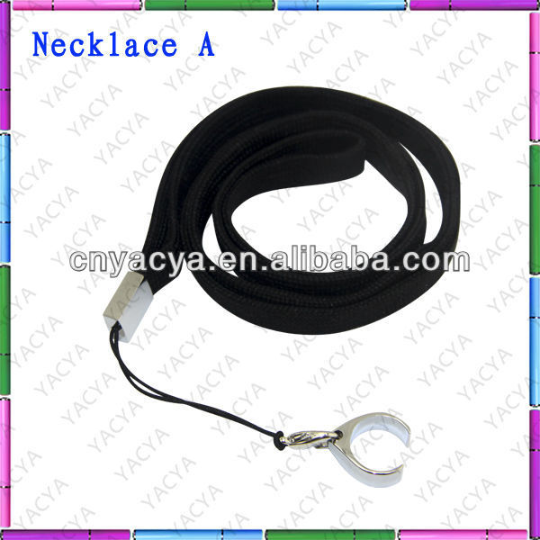 Free Shipping ego necklace in various colors and styles ,easy to carry necklace and ring holder !