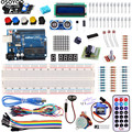 For Arduino Starter Kit Basic Learning Suite UnO R3 Kit Upgraded Stepper Motor LCD1602 LED Jumper