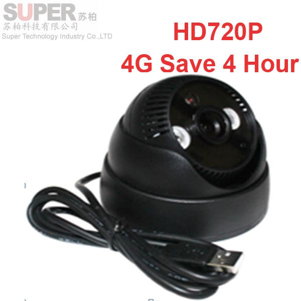 H305 HD720P USB CCTV camera Dome camera tf sd card 1.3 MP security camera 4G save 4 hour CCTV camera TF card recording DVR(China (Mainland))