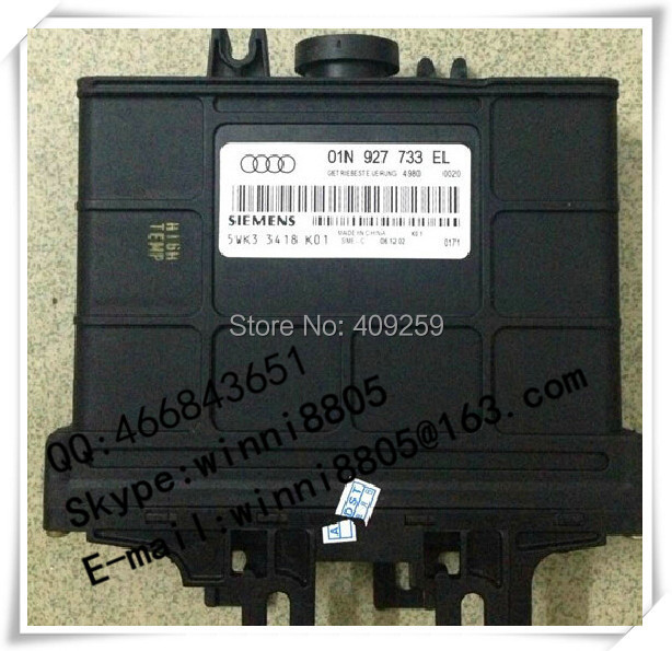 Engnine Control Unit (ECU) / For Passat car Gearbox Computer / wave box computer / 01N927733EL / 01N 927 733 EL(China (Mainland))