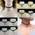new hot sale European fashion Women 's Metal Alloy DIY Letter Name Initial Link Chain Charm Pendant Necklace Necklace letters