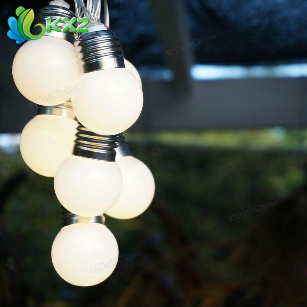 Aliexpress.com : Buy 10 LED Retro Bulb Balls String Lights Wedding Party Home Decor Fairy Light ...