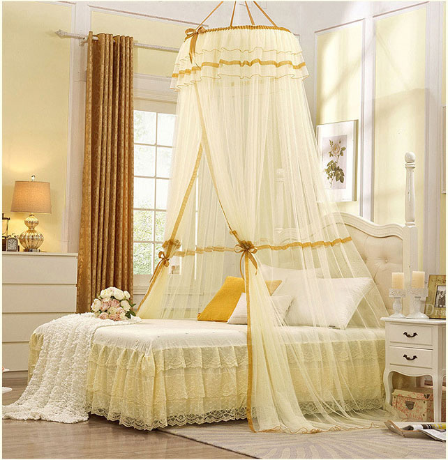 mosquito nets curtain for bedding set 5 colors princess bed canopy bed