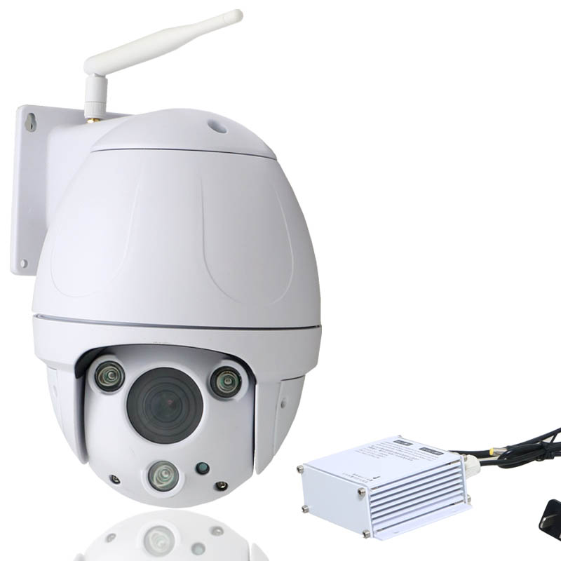 355 Degrees PTZ Dome IP Camera  Wifi outdoor Optical Zoom lens 2.8-8mm surveillance security waterpoof  960P H.264 Camera<br><br>Aliexpress