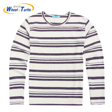 2017 Men's Warm Sweaters Winter Christmas Jumper Men's knitted Strip Sweater Man O-Neck Pullover Winter(China (Mainland))