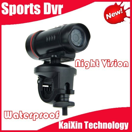 3 Meter Waterproof Action camera with Night Vision & PC Camera function