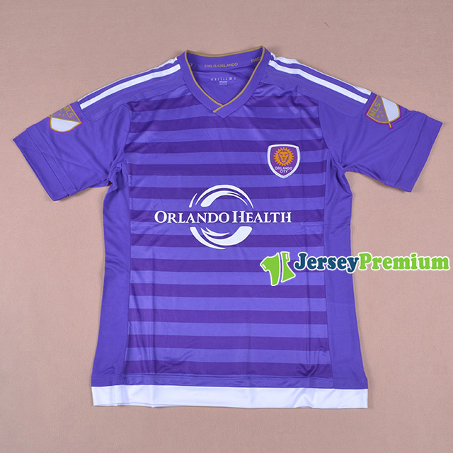 2015 Orlando City SC Jersey Home Purple top thai quality Football Soccer shirts KAKA 10 MLS(China (Mainland))