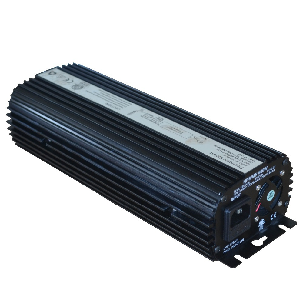 HPS 600W digital ballast with fan for green house HPS plant grow light UL approved blue housing(China (Mainland))