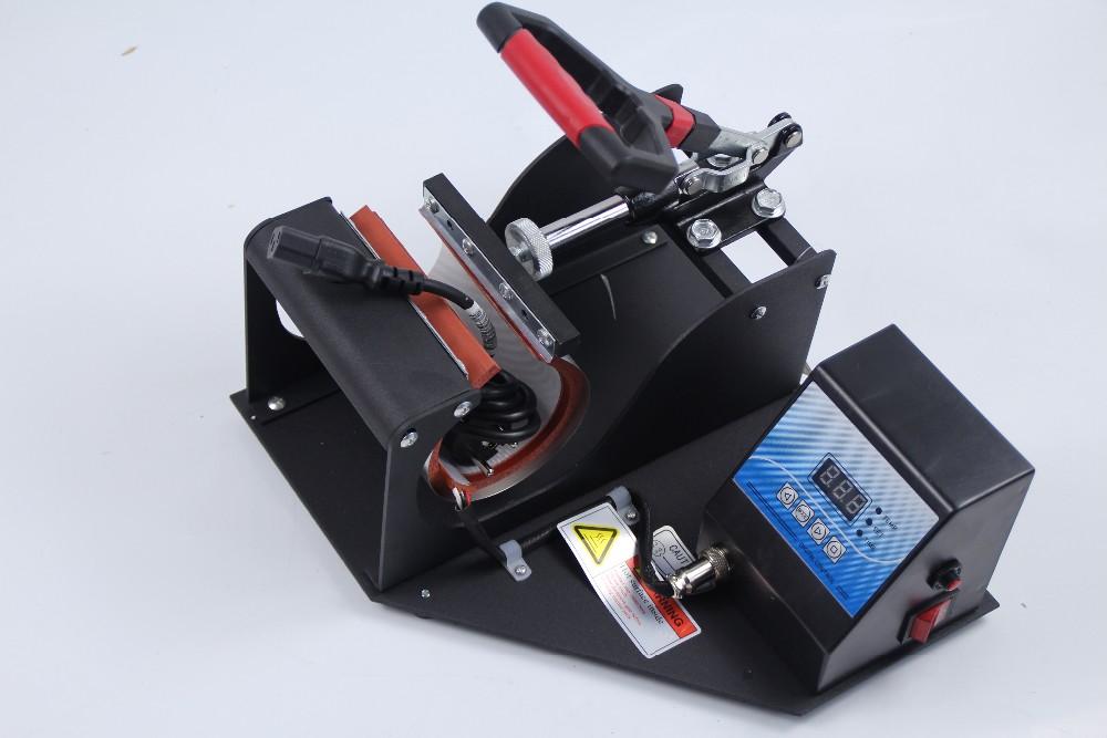 Купить Бесплатная Доставка 6 в 1 Комбинированная машина передачи тепла кружка фото печатная машина высокого давления сублимации передачи машина