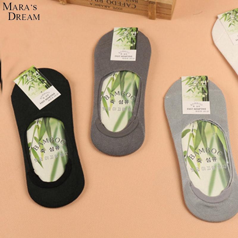 Mara's Dream 6 pairs/lot Men's Socks Cotton Bamboo Fiber Antibacterial deodorant Thin Breathable Sports Sock for Men(China (Mainland))