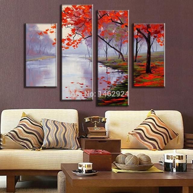 Cuadros para pinturas for Decoracion de paredes con cuadros grandes