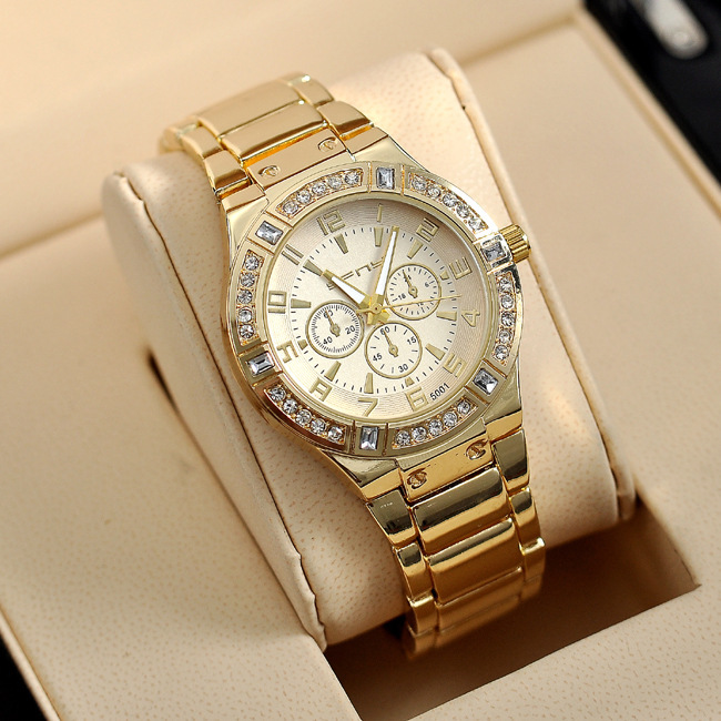 Luxury Brand Gold Quartz Watch Women Watches Woman Womens Relogio Feminino Montre Femme Reloj Mujer Saat Relojes Orologi Donna<br><br>Aliexpress